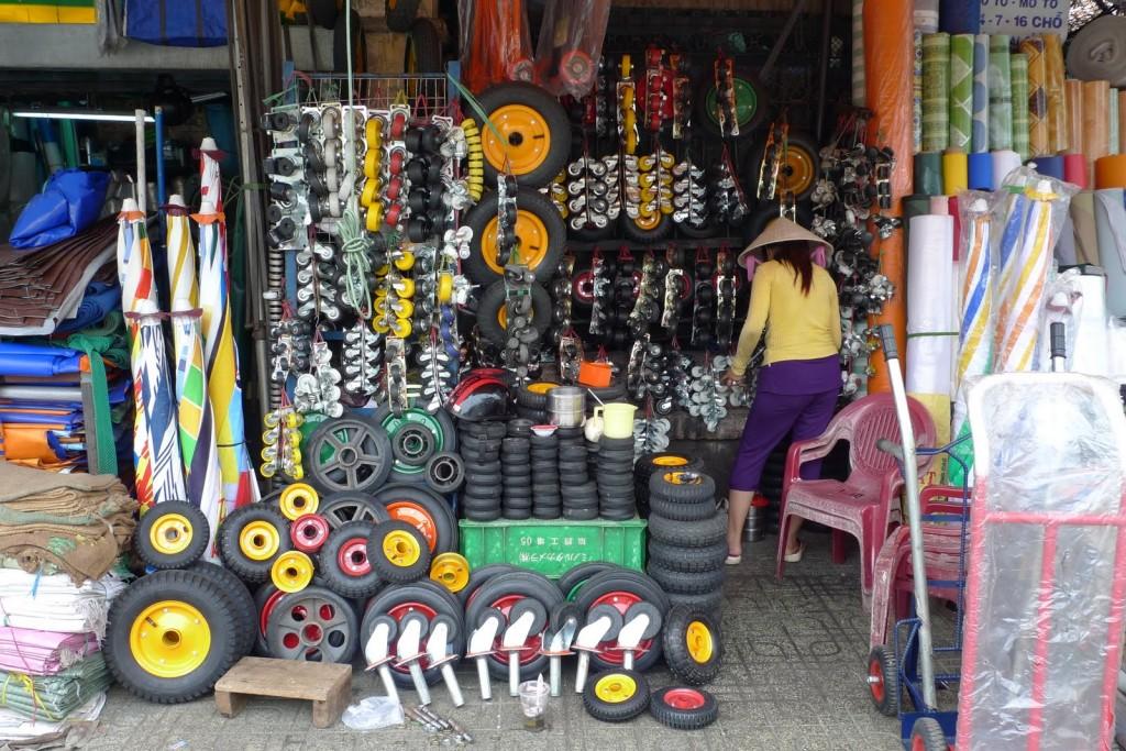 Tiendas curiosas en Vietnam, Ho Chi Minh, Saigon