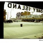 Salida del metro de Coney Island en Nueva York