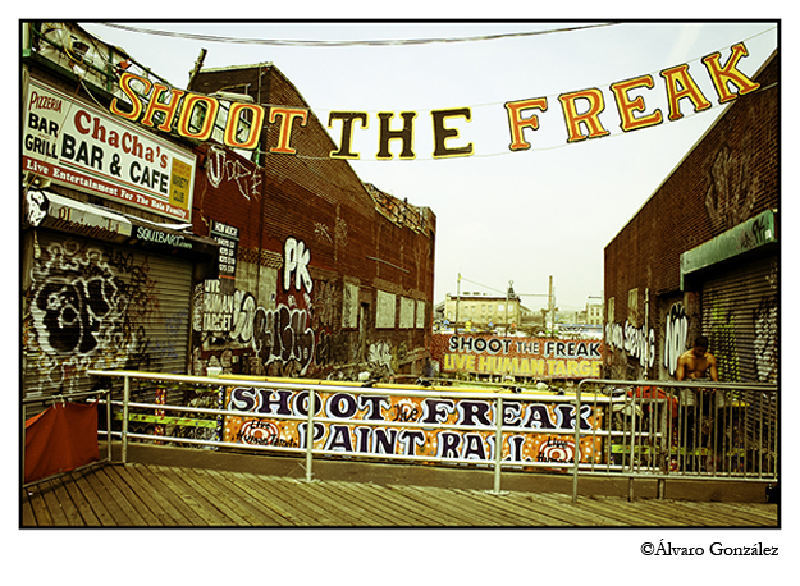 Shoot the Freak, Coney Island, New York