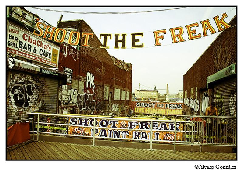 Shoot the Freak, Coney Island, New York