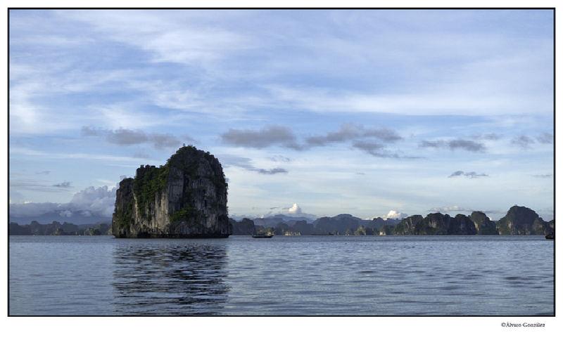 la belleza de la Bahía de Halong, Vietnam