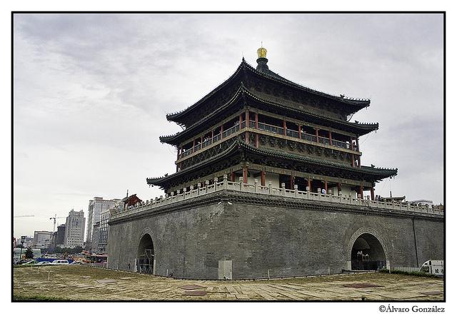 Torre del Reloj, Xian, China
