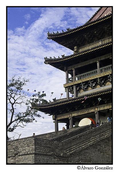 Torre del Tambor en Xian, China