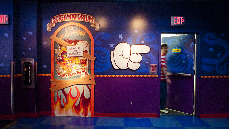 Los Simpsons en Universal Studios, Los Angeles, California
