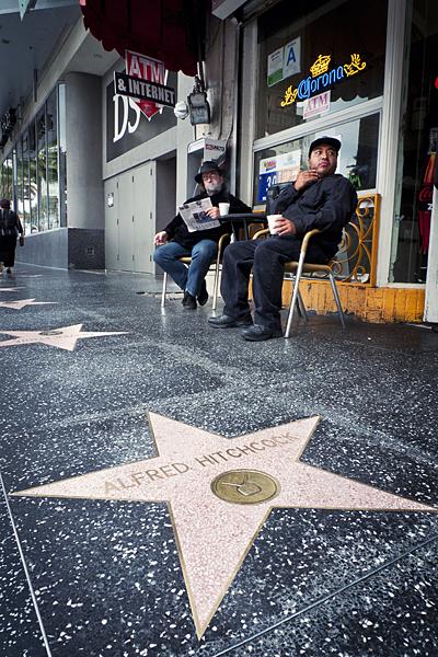 Paseo de la Fama, Los Ángeles, California, Estrella de Alfred Hitchcock