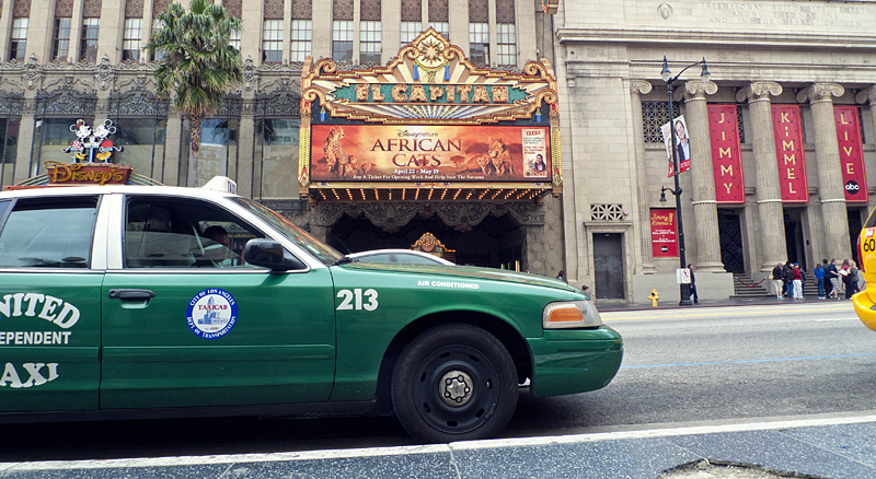 Captain Theater, hollywood boulevard, los ángeles, california