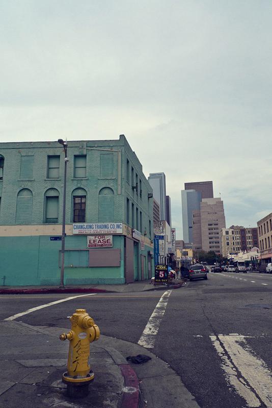 calle en Los Ángeles, California