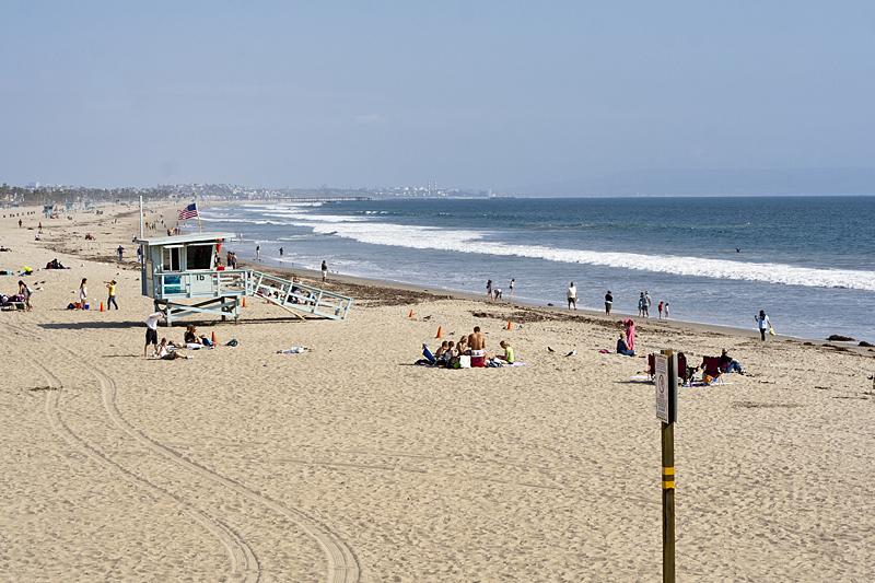 Santa Mónica es el escenario de la serie los vigilantes de la playa, Los Angeles California
