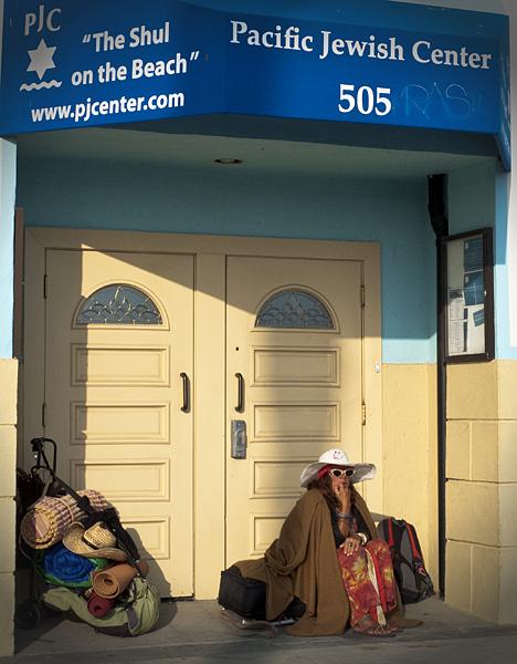 Hippies en Venice Beach, Los Angeles, California