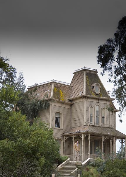 Motel Bates en Universal Studios, Los Angeles California
