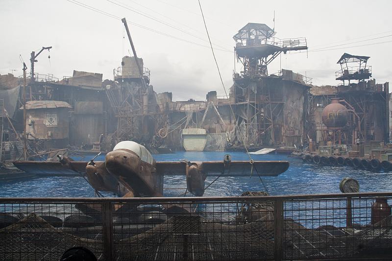 Escenario de Waterworld, Universal Studios