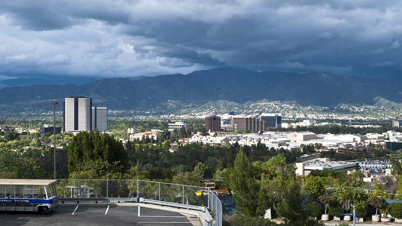 Vistas de los Universal Studios, Los Angeles, California