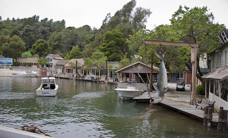 Rodaje de Tiburón en Universal Studios, Los Ángeles, California