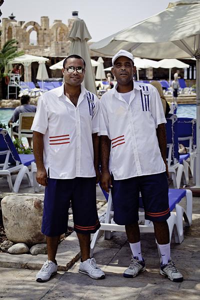 Trabajadores en Jordania