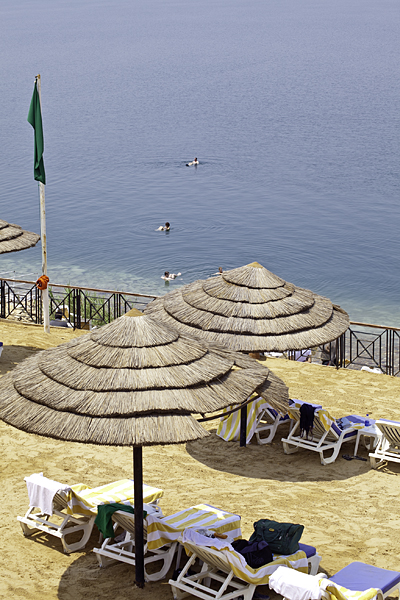 Hotel en el Mar Muerto, Jordania