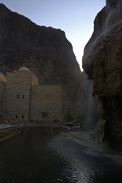 Hammamat Ma'in, jordania, oriente