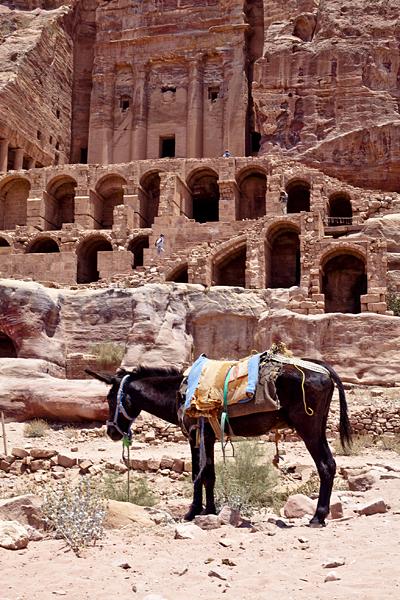 Petra, monumentos en la piedra