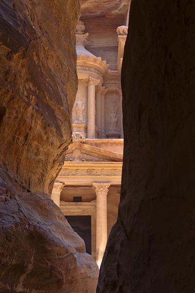 Petra, puerta del tesoro