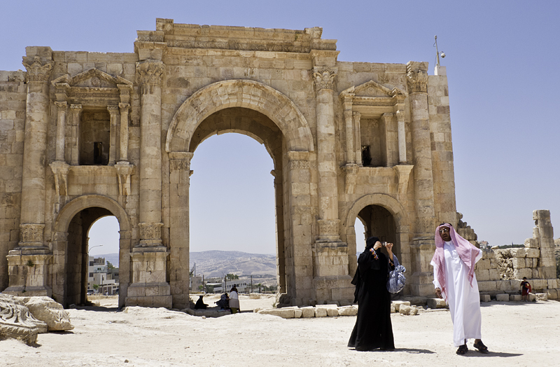 Amman, Jordania, Jerash