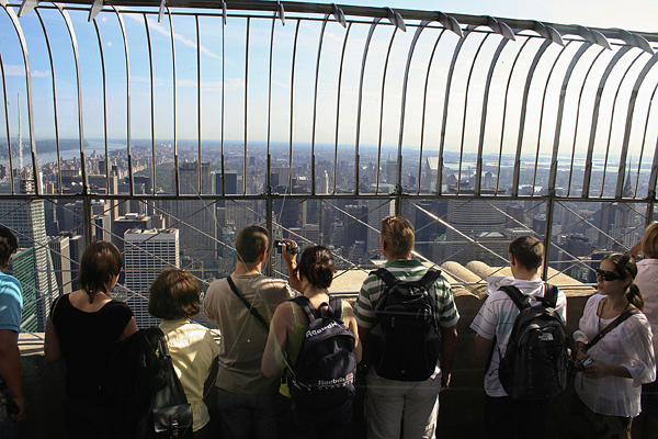 Mirador del Empire State Building, Nueva York