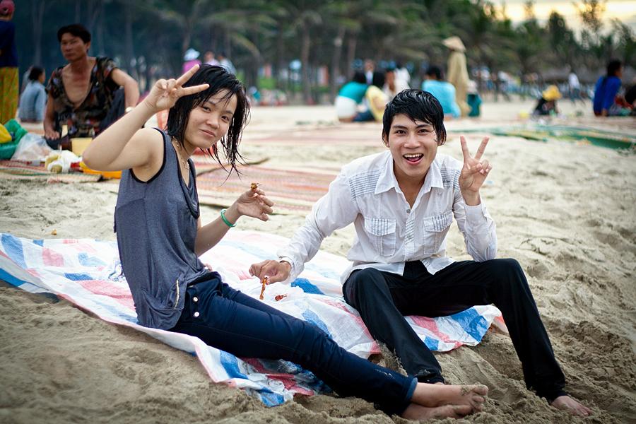 Playa de Hoi An, Vietnam