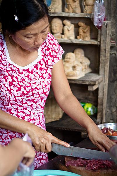 Mujer en Vietnam, Hoi An