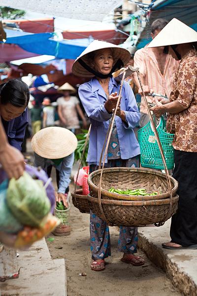 Mercado en Vietnam, Hoi An