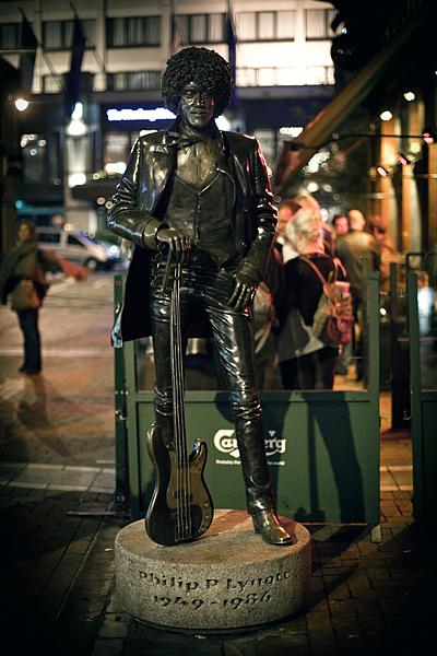 Homenaje a Thin Lizzy, Phil Lynnot en Dublín, musicos irlandeses