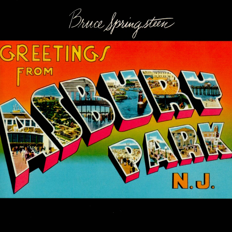 Greetings from Ashbury park, bruce springsteen