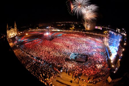 Malta, concierto Isle of MTV
