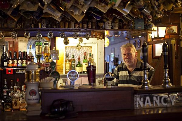 Pub en Donegal, Pub Irlandés