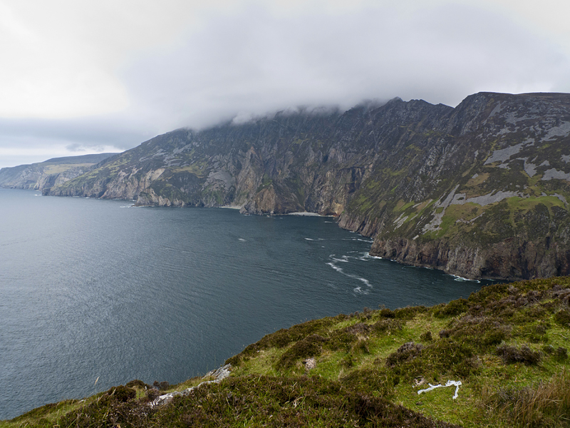 Ancatilados de Slieve League en Donegal
