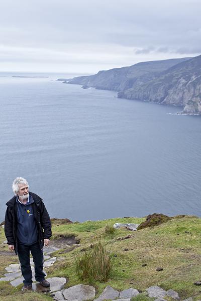 Camino de Slieve League, Vistas de acantilados en Donegal
