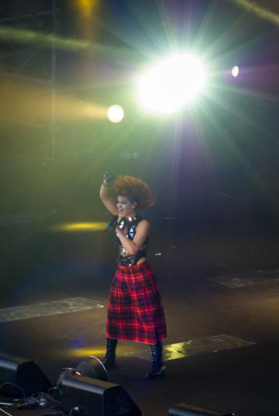 Eva Simons en concierto en Malta