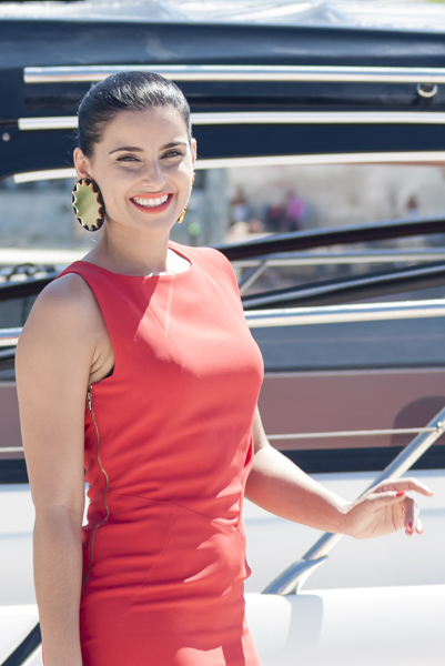 Nelly Furtado en el photocall de la MTV en Malta