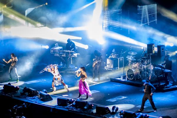 Nelly Furtado en concierto en Malta para MTV