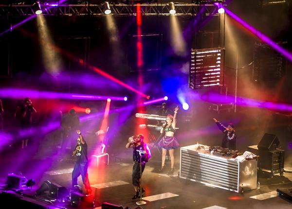 Flo Rida en concierto en Malta para MTV
