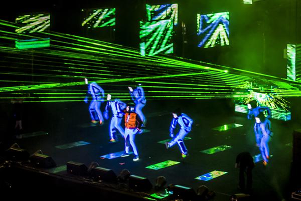 Will.I.am en concierto en Malta para MTV