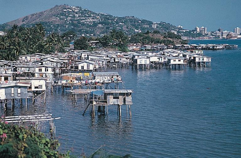 Port Moresby, capital de Papua Nueva Guinea