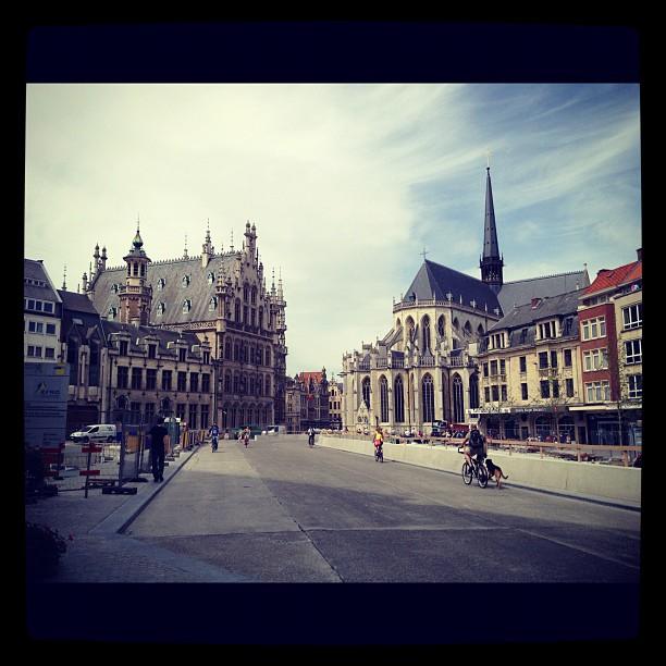 Ciudad de Lovaina en Flandes, Bélgica