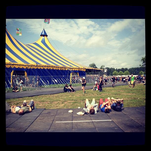 Festival Rock Werchter en Flandes