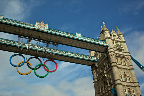 Tower Bridge en Londres 2012