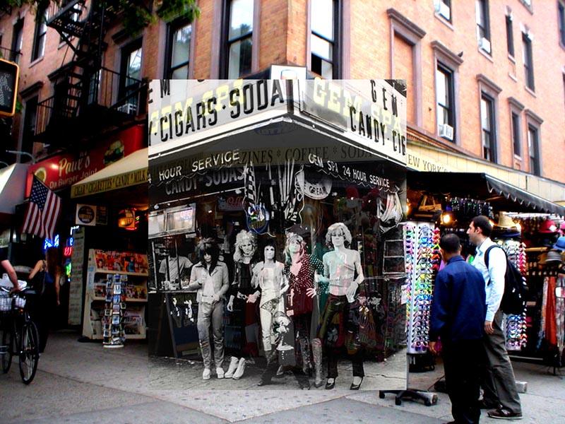 Lugar donde se hizo la foto del disco New York Dolls