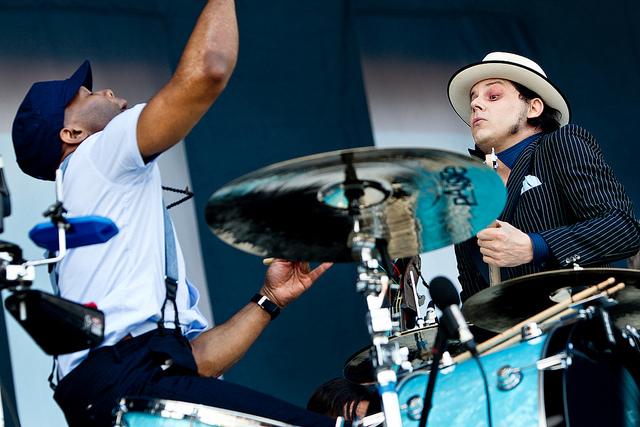 Jack White en el festival Rock Werchter 2012