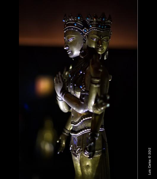 Detalle del Museo del Tíbet en Gruyeres, Suiza