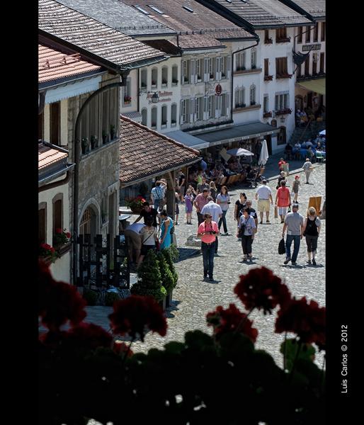 Calle de Gruyéres, Suiza
