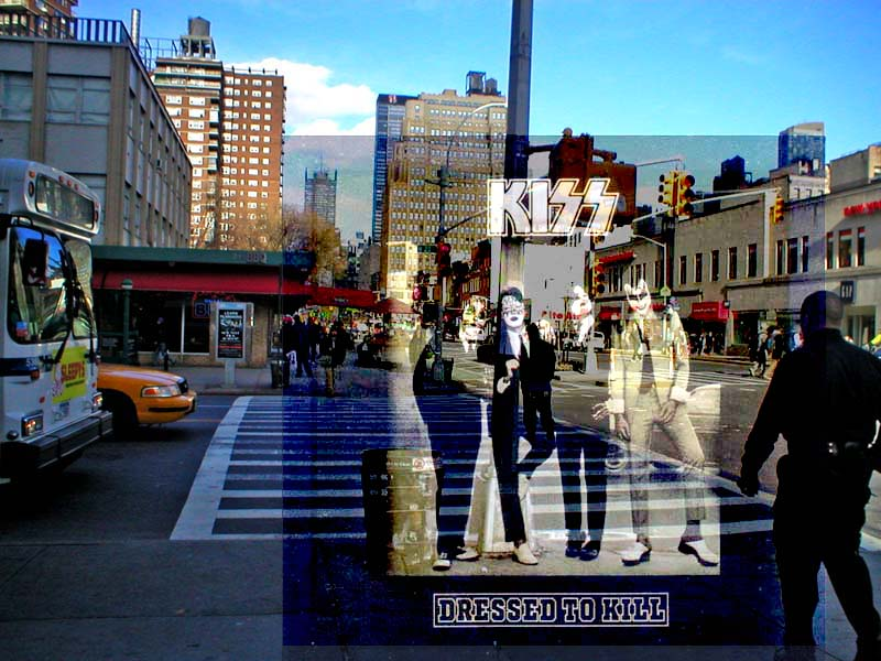 Lugar donde se hizo la foto del disco Dresses to Kill de Kiss