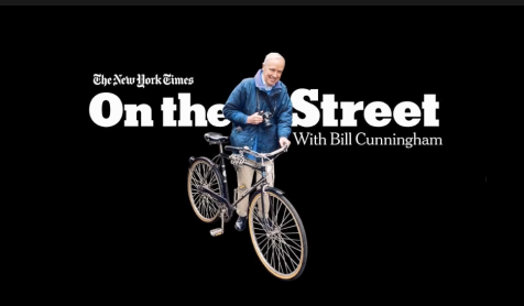 Bill Cunningham, On the Street, New York Times