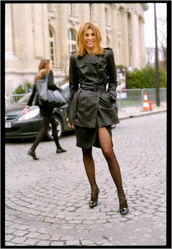 Modelo fotografiada por Bill Cunningham para New York Times