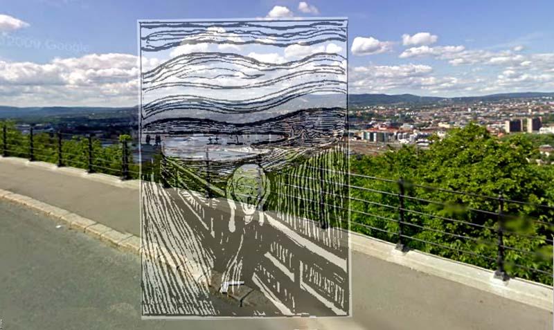 """Lugar donde Edvard Munch pintó el cuadro de """"El Grito"""""""